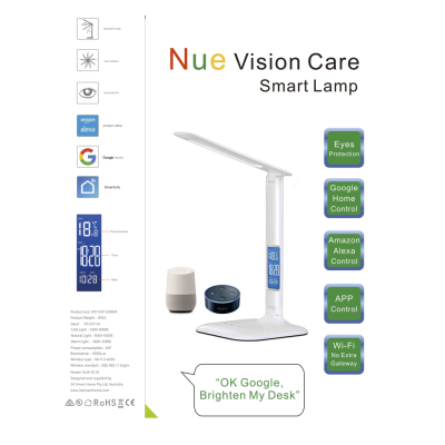 Google Home / Alexa Voice Control Smart Vision Care Lamp